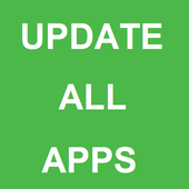 Update all apps one click guid icon