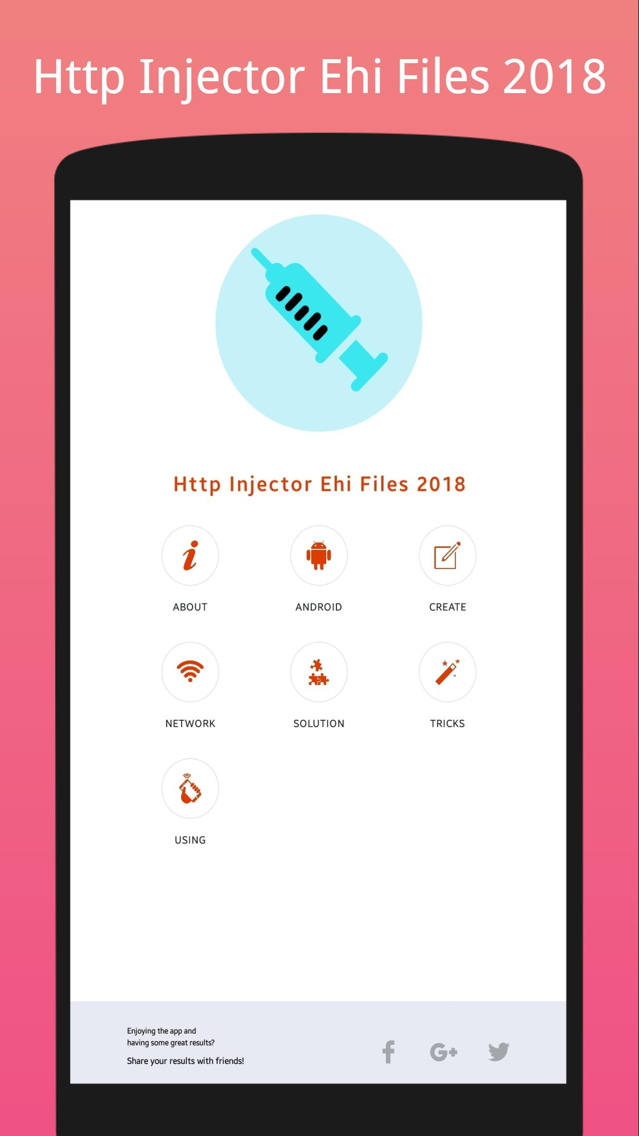 Http Injector Ehi Files 2018 for Android - APK Download