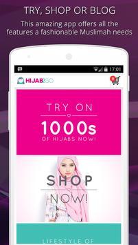 Hijab Fashion Photo Shopping poster