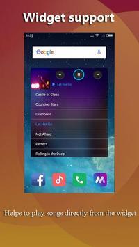 Huawei Music Player - Music player for Huawei P20 スクリーンショット 4