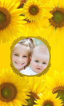 Flowers Photo Frames poster