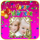 Happy New Year Photo Frames icon