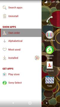 XPERIA Theme - Polka Dots screenshot 2