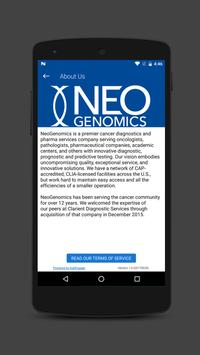 NeoGenomics App screenshot 3