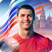 Cristiano Ronaldo: Kick'n'Run 3D Football Game icon
