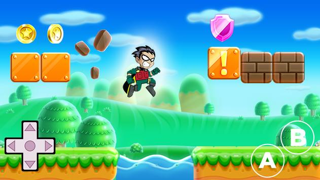 Super Titans - Adventure Robin apk screenshot