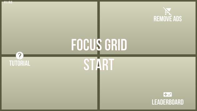 Focus Grid poster