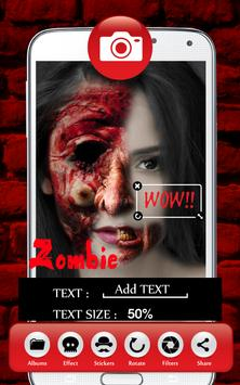 Makeup Zombify apk screenshot