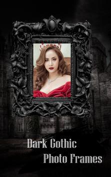Dark Gothic Photo Frame Pro poster