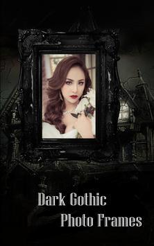 Dark Gothic Photo Frame Pro screenshot 1