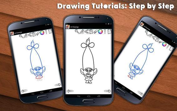 Draw Trolls apk screenshot