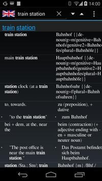 QuickDic Offline Dictionary apk screenshot