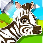 Baby Zebra SPA Salon Makeover icon