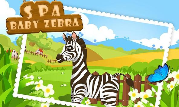 Baby Zebra SPA Salon Makeover poster