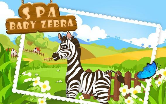 Baby Zebra SPA Salon Makeover apk screenshot