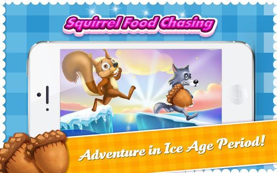 Squirrel Run Ice Age Food Dash apk screenshot