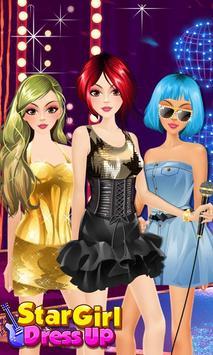 Star Girl Dress Up Salon poster
