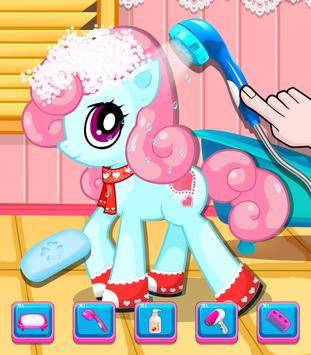 Little Pony Salon - Kids Games screenshot 5