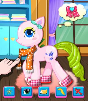 Little Pony Salon - Kids Games apk screenshot