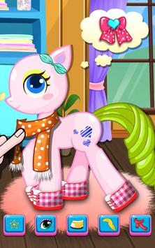 Little Pony Salon - Kids Games screenshot 10