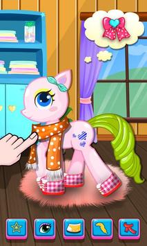 Little Pony Salon - Kids Games screenshot 2