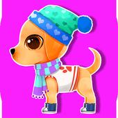 Mommy Dog's Newborn Puppy Baby icon