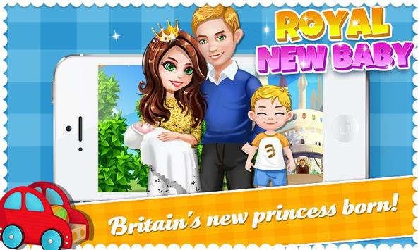 Mother's Newborn Baby Princess poster