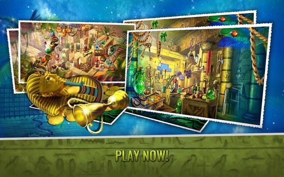 Curse Of The Pharaoh - Hidden Objects Egypt Games screenshot 3