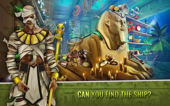 Curse Of The Pharaoh - Hidden Objects Egypt Games poster
