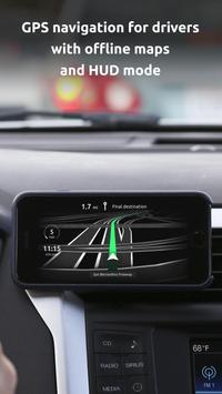HUDWAY Go — GPS Navigation & Maps with HUD poster