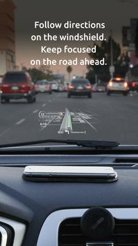 HUDWAY Go — GPS Navigation & Maps with HUD screenshot 1