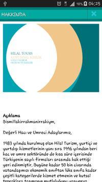 Hilal Tours Umrah Guide apk screenshot
