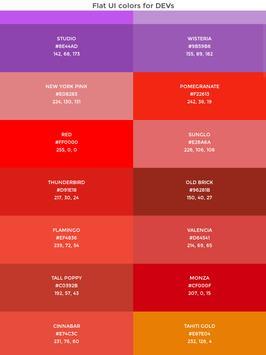 Flat UI colors for devs screenshot 2