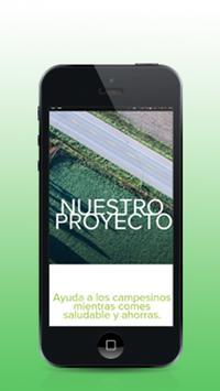 Huertapp poster