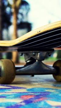 Skateboard Life Wallpaper poster