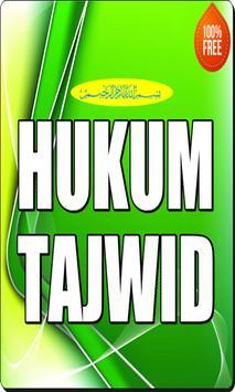 Hukum Tajwid poster