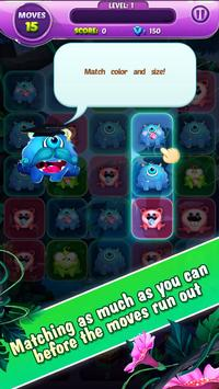 Monster Nibblers-Mellow puzzle screenshot 1