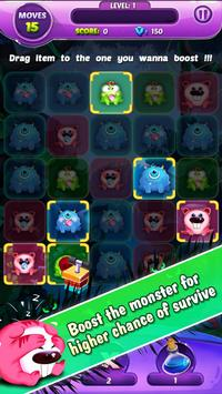 Monster Nibblers-Mellow puzzle screenshot 2