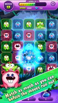 Monster Nibblers-Mellow puzzle screenshot 6