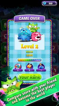 Monster Nibblers-Mellow puzzle screenshot 9