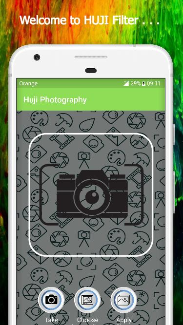 Huji Cam Filter Photo Editor For Android Apk Download