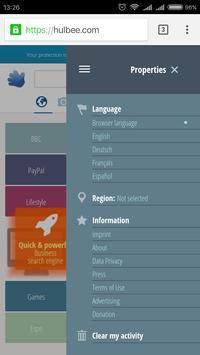 Hulbee Search screenshot 1