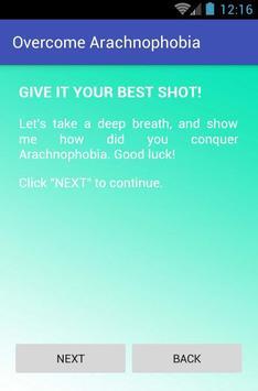 Overcome Arachnophobia screenshot 1