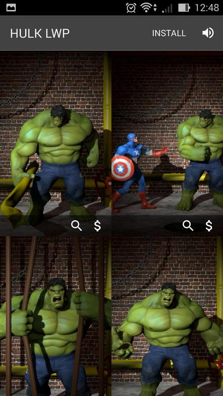 Superhero Live Wallpapers Screenshot 5