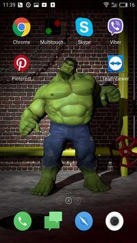 Superhero Live Wallpapers screenshot 6