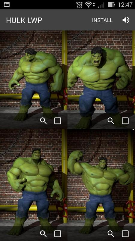 Superhero Live Wallpapers Screenshot 7