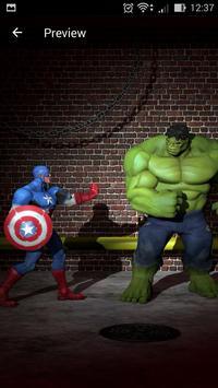 Superhero Live Wallpapers screenshot 2
