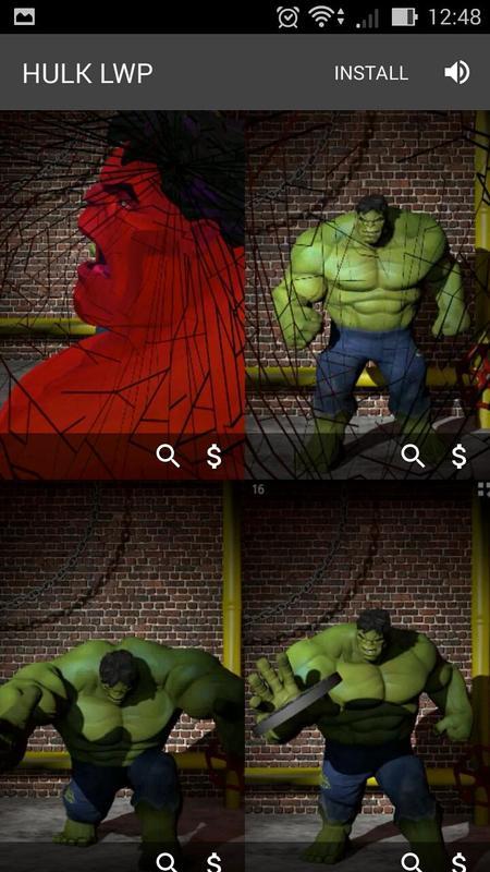 Superhero Live Wallpapers Screenshot 3