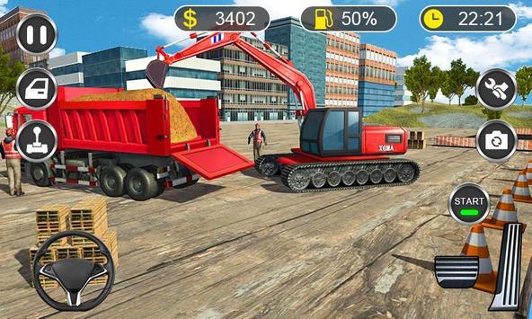 Excavator Simulator 2019 - Heavy Crane Drive poster