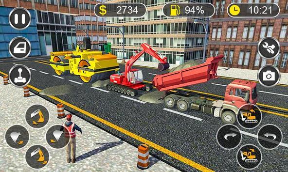 Excavator Simulator 2019 - Heavy Crane Drive screenshot 1